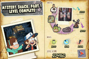 FN Mystery Shack Part 1 level complete