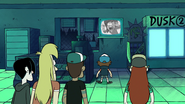 S1e5 people looking at the security camera screen 2