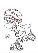 Chris Houghton short8 skater girl mabel