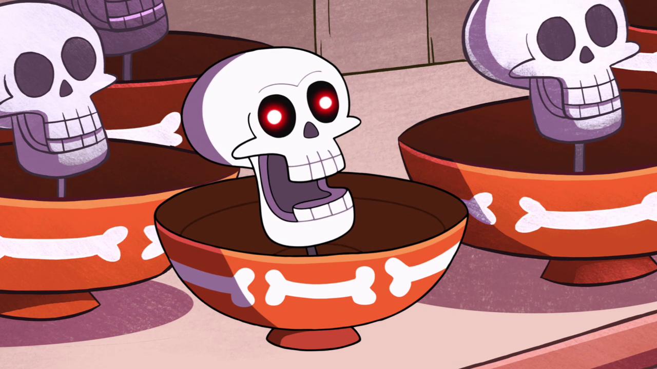 Хохочущие черепа