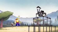 S1e10 robbie lands on jungle gym