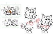 Chris Houghton S1e13 wolf chicken rough