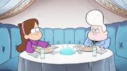 S1E4 Mabel e Gideon al ristorante