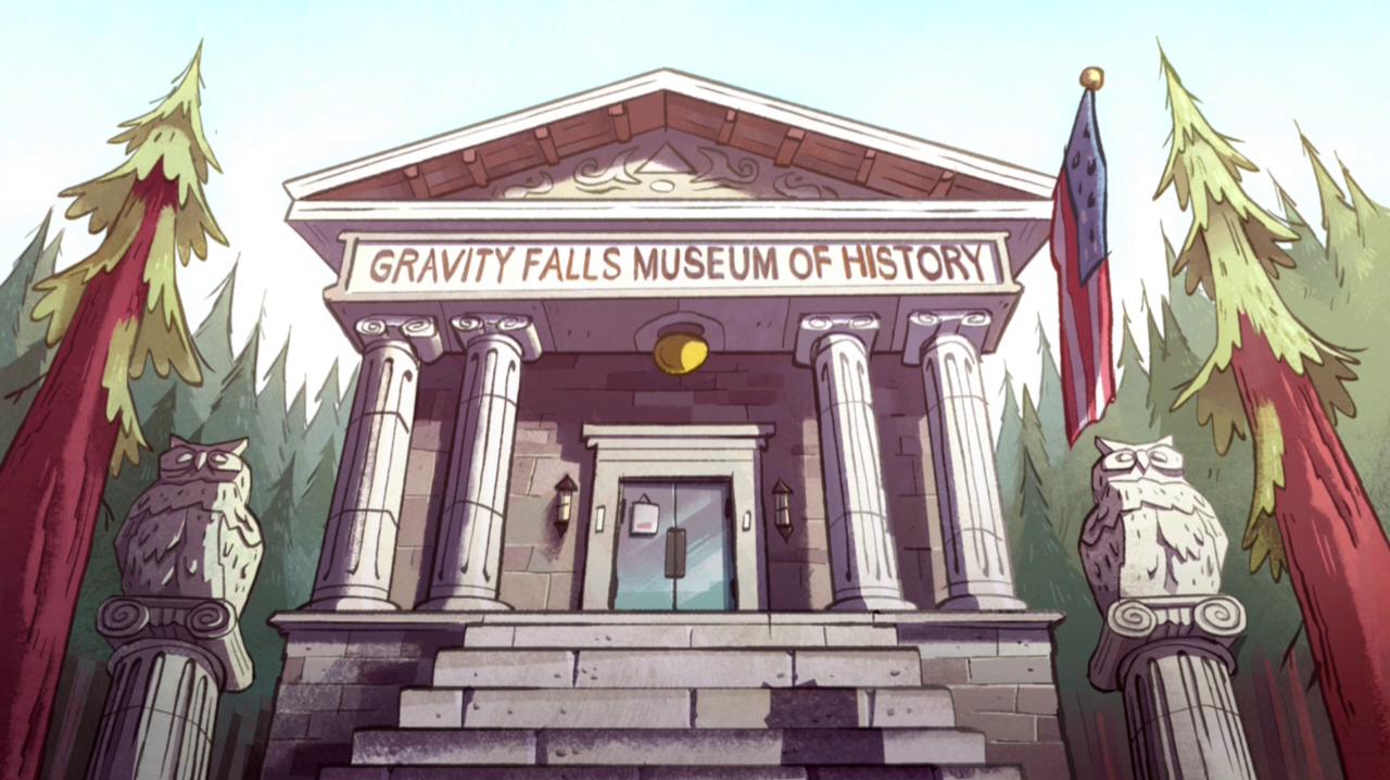 Gravity Falls Museum of History