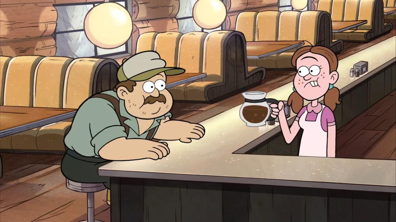 Greasy's Diner waitress