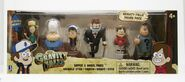 Gravity Falls Six Toy Pack Dipper Mabel Stan Soos Wendy Gideon packaging