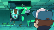 S1e5 dipper watching the ghost