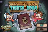 Game the twin mystery vortex of doom start menu