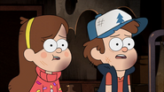 S2e20 Dipper and Mabel in shock