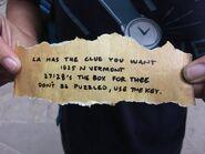 Cipher Hunt PO Box clue