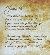 Journal 3 June18