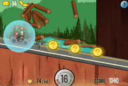 Game mystery tour ride invincibility in use