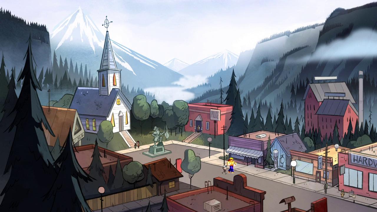 Gravity Falls Church