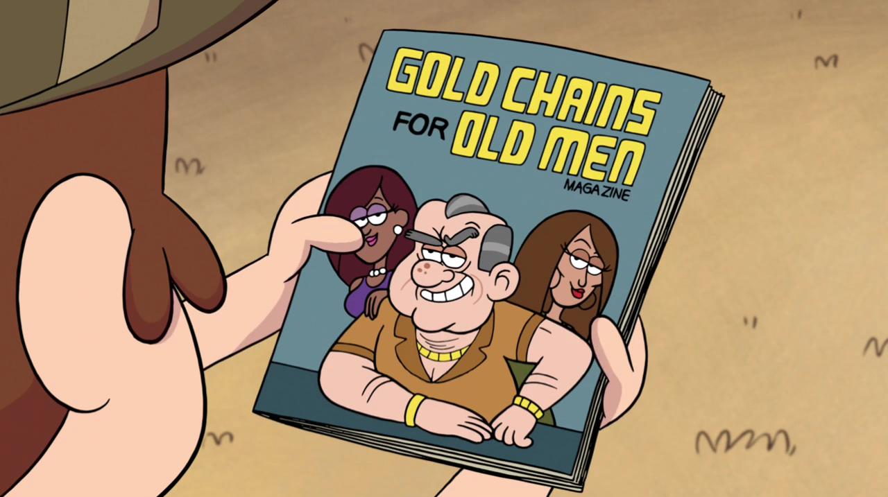 Золотые цепочки для стариков
