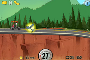 Game mystery tour ride invincibility powerup