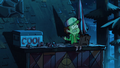 S2e4 dipper on roof