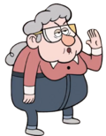Unnamed old woman in pink.png