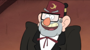S1e3 grunkle stan smiling