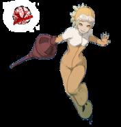 Yunica spy costume gravity rush by ja renders-d8ix66q