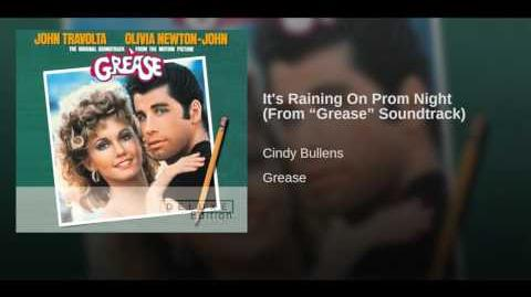 """It's Raining On Prom Night (From """"Grease"""" Soundtrack)"""