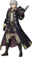 Robin with his Tome