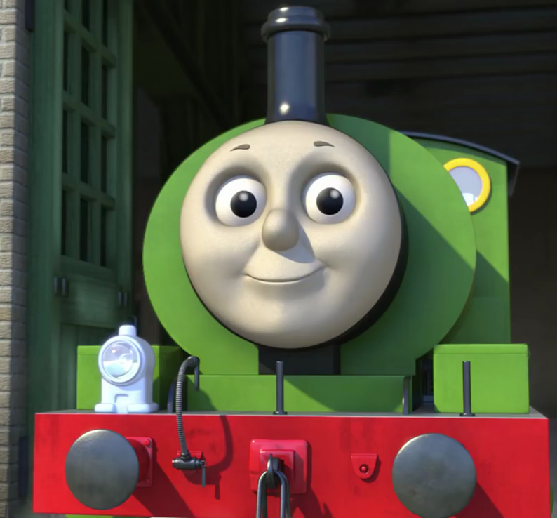 Percy the Small Green Saddle Tank Engine