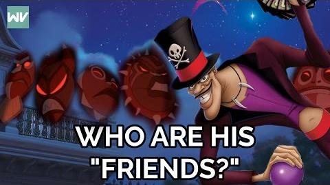"""Discovering Disney - Princess and the Frog Theory-Who Are Dr Facilier's """"Friends""""?"""