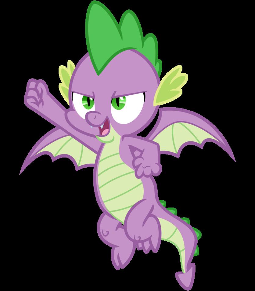 B.K. Tyler/Spike (My Little Pony)
