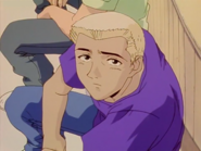 Kunio Listens to His Mother