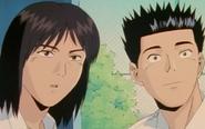 The Gang Watching Fuyumi Play