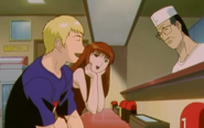 Onizuka with Tomoko and Her Father