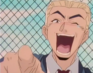 Kunio Laughing at Onizuka