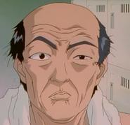Uchiyamada in the Locker Room