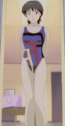 Azusa Fuyutsuki swimsuit