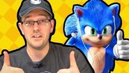 Cinemassacre's Sonic The Hedgehog Movie Review with SomecallmeJohnny