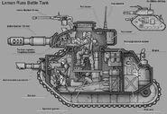 Leman russ cross section