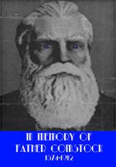 Comstock memorial poster