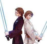 Anakin and Luke