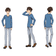 Makoto Edamura Character Sheet - Cold Intdoor Wear