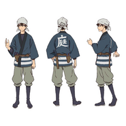 Makoto Edamura - Character Sheet - Bug Catcher