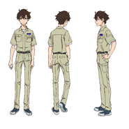 Makoto Edamura - Character Sheet - Mechanic