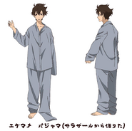 Makoto Edamura - Character Sheet - PJ's