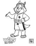 Wiley The Wolf Coloring Page