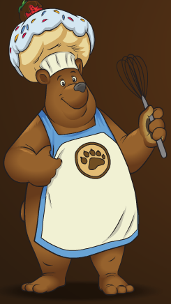 Image of Sprinkles the Bear.