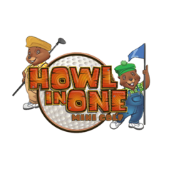 Howl in One Mini Golf Logo.png