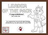 Semi Fanmade GWL Challenge Certificate