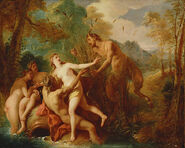 Jean-François de Troy - Pan and Syrinx