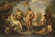 Ciari Giuseppe Bartolomeo-ZZZ-Bacchus and Ariadne