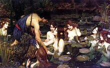Waterhouse Hylas and the Nymphs Manchester Art Gallery 1896.15-0.jpg