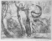 Priapus and lotis